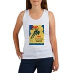 Leap Don't Lag Frog Women's Tank Top