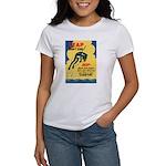 Leap Don't Lag Frog (Front) Women's T-Shirt