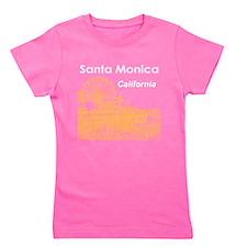 Santa Monica Girl's Tee