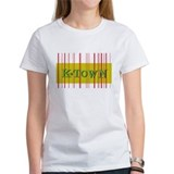 Gold K-Town Knoxville Retro Striped Tee