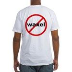 No Waxel! Fitted T-Shirt