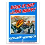 Choose Navy Small Poster