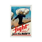 Join the Navy Rectangle Magnet