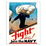 Join the Navy Small Poster