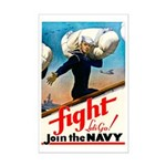 Join the Navy Mini Poster Print