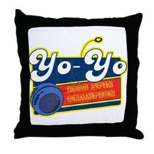 Yo-Yo Throw Pillow