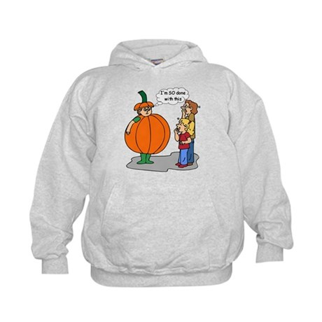 Funny Halloween Kids Hoodie