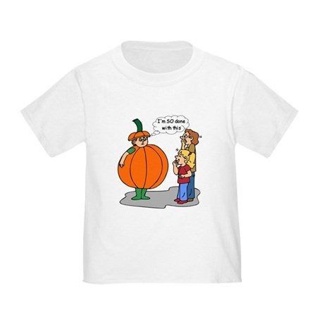 Funny Halloween Toddler T-Shirt