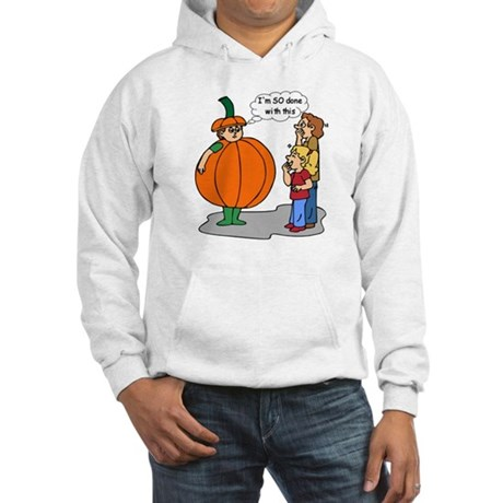 Funny Halloween Hooded Sweatshirt