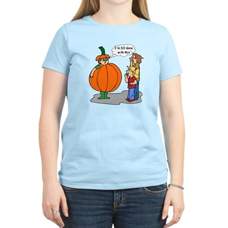 Funny Halloween Women's Light T-Shirt