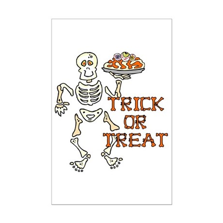 Trick or Treat Mini Poster Print