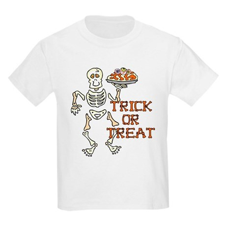 Trick or Treat Kids Light T-Shirt