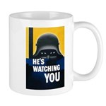 He's Watching You Mug