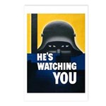 He's Watching You Postcards (Package of 8)
