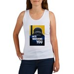 He's Watching You Women's Tank Top