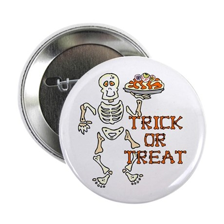 "Trick or Treat 2.25"" Button (100 pack)"