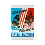 United We Stand Rectangle Magnet (10 pack)