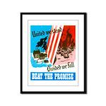 United We Stand Framed Panel Print