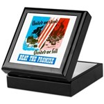United We Stand Keepsake Box