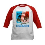 United We Stand (Front) Kids Baseball Jersey