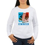 United We Stand (Front) Women's Long Sleeve T-Shir