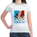 United We Stand (Front) Jr. Ringer T-Shirt