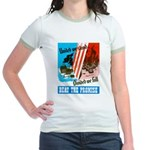 United We Stand (Front) Jr. Ringer T-Shirt