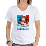 United We Stand Women's V-Neck T-Shirt