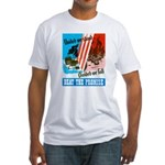 United We Stand (Front) Fitted T-Shirt