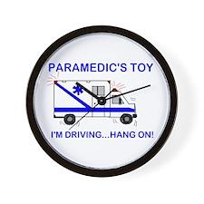 Paramedic's Toy Wall Clock