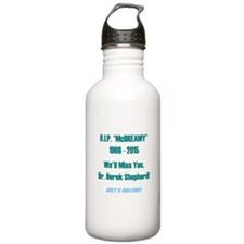 "RIP ""McDREAMY"" Water Bottle"