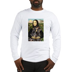 Mona's 2 Dobies Long Sleeve T-Shirt