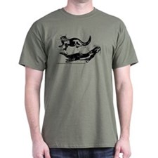 Oriental Small Clawed Otter T-Shirt