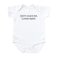 Don't Scare Me, I Poop! Onesie