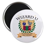 Wizard U Alchemy RPG Gamer HP Magnet
