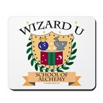 Wizard U Alchemy RPG Gamer HP Mousepad