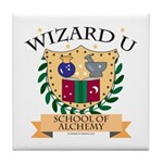 Wizard U Alchemy RPG Gamer HP Tile Coaster
