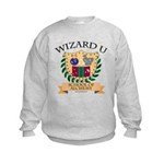 Wizard U Alchemy RPG Gamer HP Kids Sweatshirt