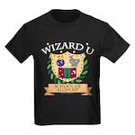 Wizard U Alchemy RPG Gamer HP Kids Black T-Shirt