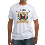 Wizard U Alchemy RPG Gamer HP Fitted T-Shirt