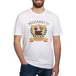 Wizard U Alchemy RPG Gamer HP Fitted T-Shirt
