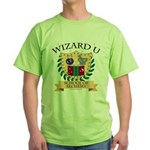 Wizard U Alchemy RPG Gamer HP Green T-Shirt