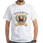 Wizard U Alchemy RPG Gamer HP White T-Shirt
