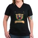 Wizard U Alchemy RPG Gamer HP V-Neck Grey T-shirt