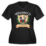 Wizard U Alchemy RPG Gamer HP Plus Size V-neck Tee