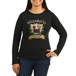 Wizard U Alchemy RPG Gamer HP Black Long Sleeve T