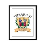 Wizard U Alchemy RPG Gamer HP Framed Panel Print
