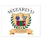 Wizard U Alchemy RPG Gamer HP Small Poster