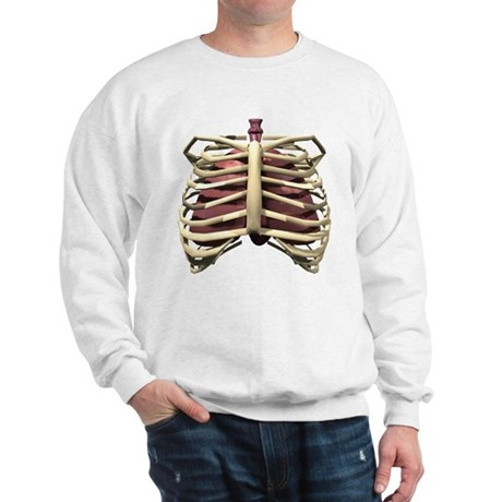 3D Surreal Ribcage Sweatshirt