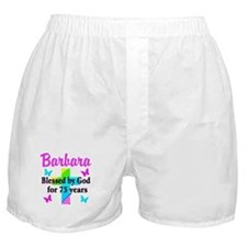 BLESSED 75 YR OLD Boxer Shorts